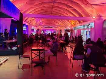 Evento com cerca de 100 pessoas é encerrado por Guarda Municipal e PM em bar de Nova Lima - G1