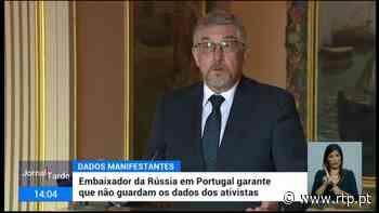 Embaixador russo em Portugal garante que embaixada não guarda dados de ninguém - RTP