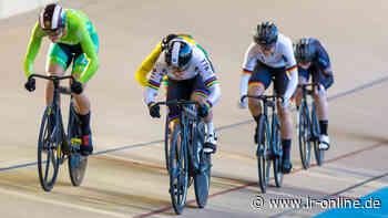 Großer Preis in Cottbus: Weltmeisterin Hinze siegt im Keirin - Lausitzer Rundschau