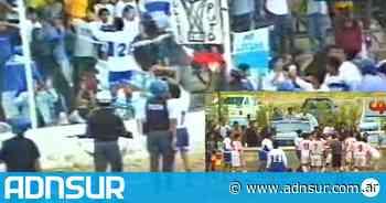 Piñas, expulsiones y suspensión del partido: Apareció la segunda parte de Huracán-Newbery en la final del 2000 - ADN Sur