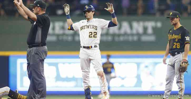 Brewers come back big against Pirates, 7-4