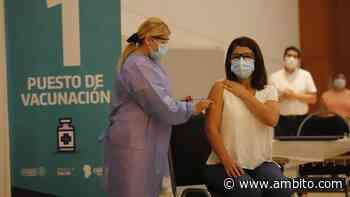 Córdoba: en Villa Carlos Paz no fue a vacunarse el 25% de los convocados - ámbito.com