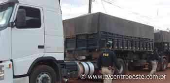 Caminhoneiro é detido com veículo adulterado em Pontes e Lacerda – TV Centro Oeste - Tv Centro Oeste