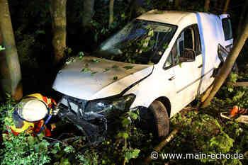 Von Fahrbahn abgekommen: Frau bei Autounfall in Sailauf verletzt - Main-Echo