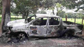 Hallan cuerpo calcinado dentro de un vehículo en Valledupar - EL HERALDO