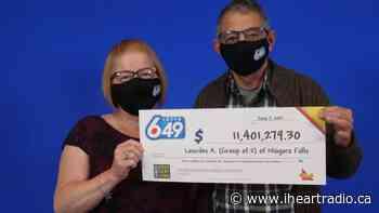 Niagara Falls couple celebrates $11M lotto win - Newstalk 610 CKTB (iHeartRadio)
