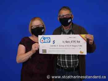 Niagara Falls couple wins $11.4M Lotto prize - StCatharinesStandard.ca