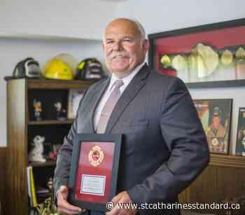 Retired Niagara Falls firefighter Fred Audibert recipient of prestigious provincial award - StCatharinesStandard.ca