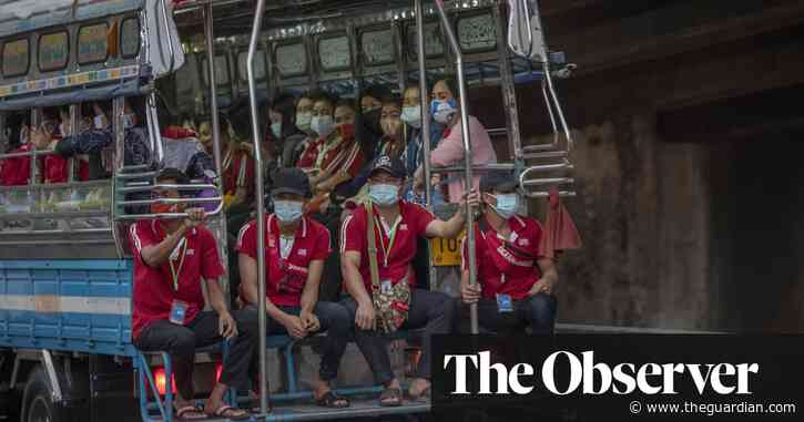 Factory workers making goods for the west bear brunt of virus surge in south-east Asia