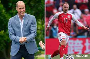 Prince William Sends Christian Eriksen Well Wishes After Collapsing During Euro 2020 - ETCanada.com