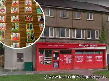 Nelson man, 34, receives suspended sentence for stealing football stickers from Bargain Booze