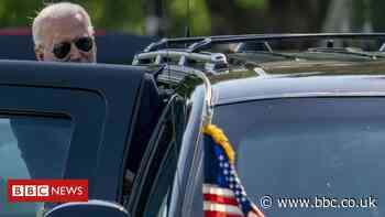 The Beast: How Biden's getting around on his first overseas trip