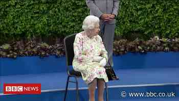 The Queen: 'Are you supposed to be looking as if you're enjoying yourself?'