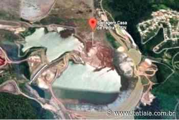 Justiça do Trabalho mantém interdição da barragem Casa de Pedra, em Congonhas - Rádio Itatiaia