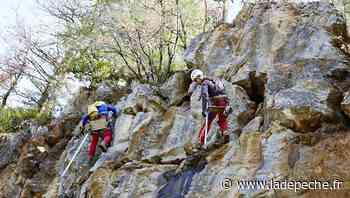 RD811 : travaux de nuit pour sécuriser la falaise entre Cahors et Mercuès - ladepeche.fr