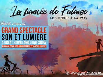 Grand spectacle Son et Lumière « La Fiancée de Falaise – Le Retour à la Paix » Falaise mercredi 14 juillet 2021 - Unidivers