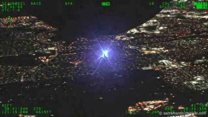 2 Arrested For Allegedly Pointing Lasers At CHP Aircraft In Roseville