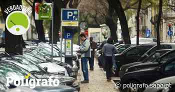 Empresa pública de estacionamento de Almada recebeu apoio de 770 mil euros? - Polígrafo - Polígrafo