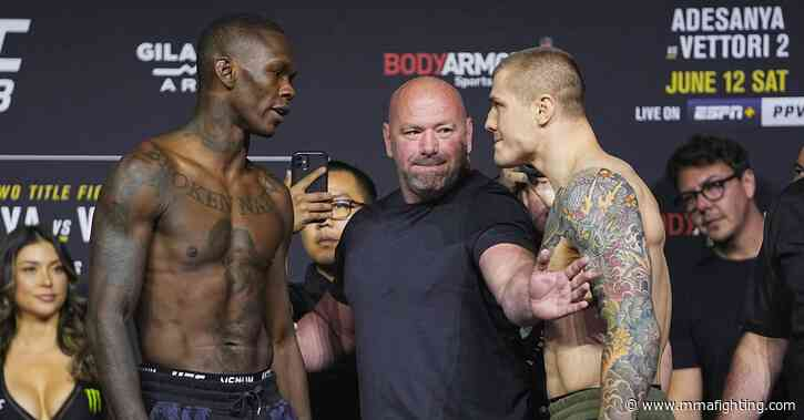 UFC 263 live blog: Israel Adesanya vs. Marvin Vettori 2
