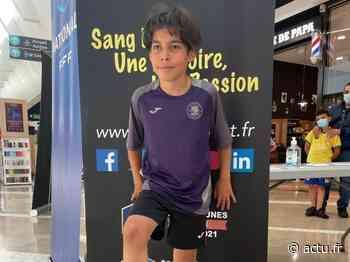 3041 jongles pour Wanis, 10 ans, à Auchan Saint-Priest, bravo champion ! - actu.fr