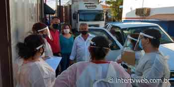 Cravinhos realiza levantamento para diagnóstico de casos de Covid-19 - Intertv Web
