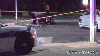 Motorcyclist dead after crash in Brampton - CP24 Toronto's Breaking News
