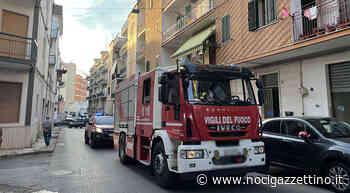 Incendio domestico in via Pio XII - NOCI gazzettino