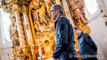 Oö: Wallfahrt zum Heiligen Florian → zu Fuß von Maria Schmolln nach zum Florianikircherl in Helpfau-Uttendorf   Fireworld.at - Fireworld.at