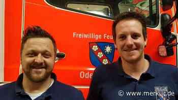 Harmonischer Führungswechsel bei der Feuerwehr Odelzhausen: Olli Mathis und Benny Küpper tauschen die Plätze - Merkur Online