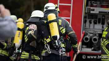Acht Wohnungen nach Brand in Neunburg vorm Wald unbewohnbar - BR24