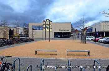 Ein Präsent für Renningen: Vor die Mediathek kommt ein kleiner Glockenturm - Leonberger Kreiszeitung - Leonberger Kreiszeitung