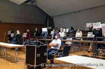 Renningen: Protestaktion gegen Test- und Maskenpflicht - Leonberger Kreiszeitung - Leonberger Kreiszeitung