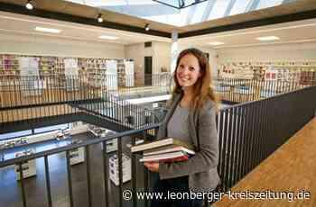 Renningen: Evelyn Bachmann ist die neue Leiterin der Mediathek - Leonberger Kreiszeitung - Leonberger Kreiszeitung