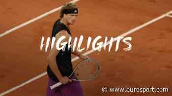 French Open 2021 - Highlights: Alexander Zverev breezes past Kei Nishikori at Roland Garros - Eurosport.com