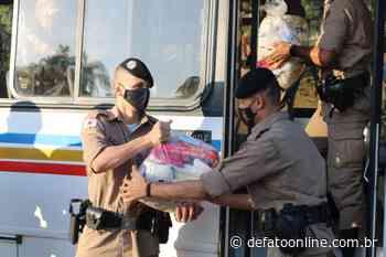 PM de Ipatinga participa de campanha para arrecadação e distribuição de alimentos - DeFato Online