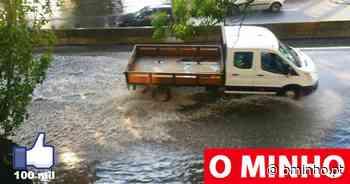 Atenção, Braga e Viana: Vem aí mais chuva, granizo e trovoada durante a tarde - O MINHO
