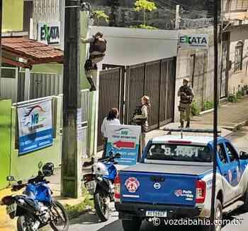 Escritório de contabilidade é assaltado na Av. Luiz Viana em Santo Antônio de Jesus - Voz da Bahia