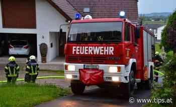 Holzhaufen in Feldkirchen brannte - Urfahr-Umgebung - Tips - Total Regional