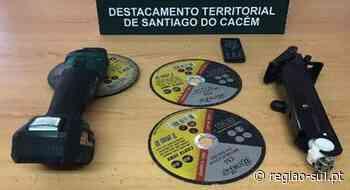 Sines: Homem detido por furto de catalisadores - Região Sul
