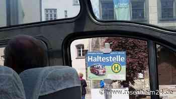 Der Wasserburger Stadtbus wird schneller und komfortabler