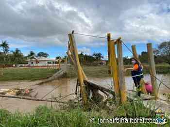 Situação de Emergência: Tijucas decreta emergência em áreas do Município afetadas pela tempestade de quarta - Jornal Folha do Litoral