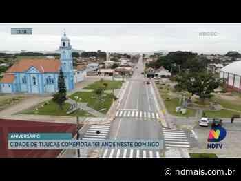 Aniversário: Cidade de Tijucas comemora 161 anos neste domingo - ND Mais
