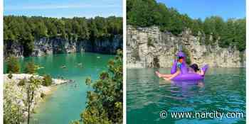 This Aquamarine Swimming Hole Near Toronto Is Where You'll Want To Spend The Entire Summer - Narcity Canada