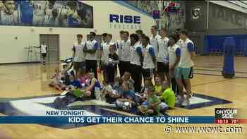 Kids get their chance to shine at Creighton abilities camp - WOWT