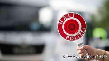Aktionstag Überwachung Überholverbot der VPI Traunstein - chiemgau24.de