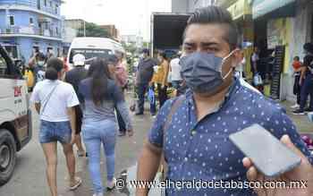 Se alarga por horas espera del transporte en Villahermosa - El Heraldo de Tabasco