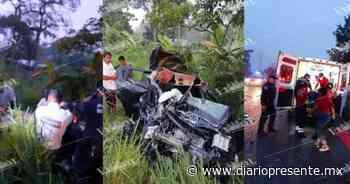 Accidente vial en el km 50, carretera Federal Villahermosa - Chetumal - Diario Presente
