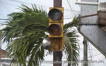 Tiene Villahermosa semáforos en ruinas - El Heraldo de Tabasco