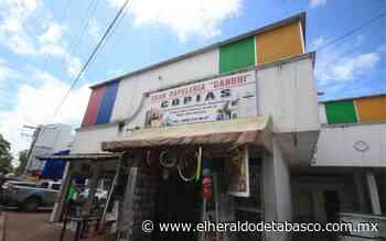 Pandemia bajó cortinas de al menos 15 papelerías en Villahermosa - El Heraldo de Tabasco