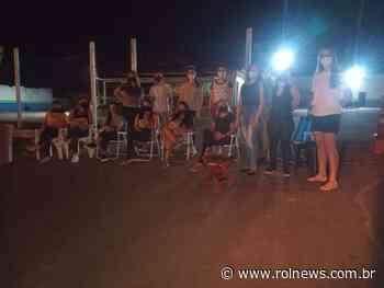 10º Batalhão em Rolim de Moura é fechado por esposas de policiais militares - ROLNEWS